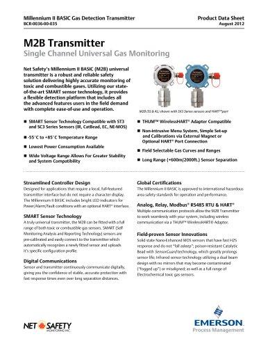 Millennium II BASIC Gas Detector