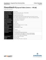 Net Safety Flame Detector Video Camera Combo - 5