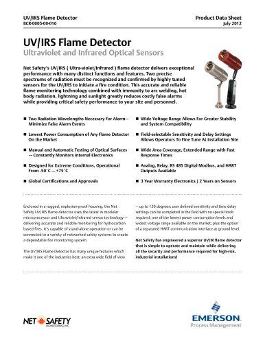 Net Safety UV/IR Flame Detector