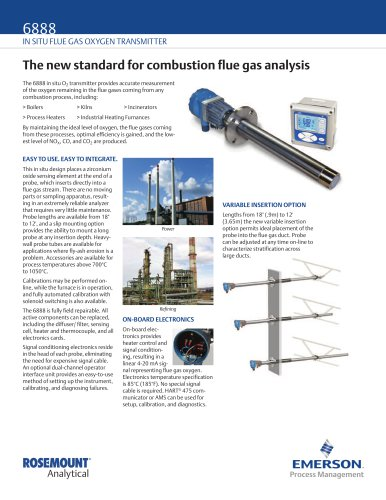 The new standard for combustion flue gas analysis