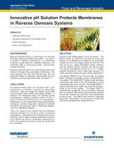 pH Solution Protects Membrane in Reverse Osmosis - 1