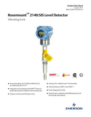 Rosemount™ 2140:SIS Level Detector