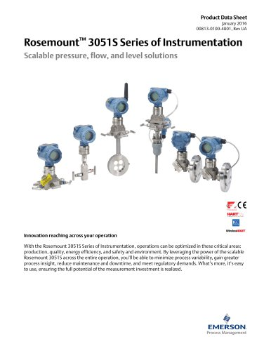 Rosemount  3051S Series of Instrumentation