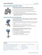 Rosemount  3051S Series of Instrumentation - 2