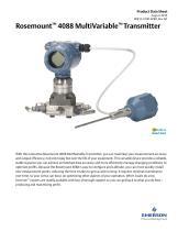 Rosemount 4088 MultiVariable™ Transmitter - 1