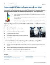 Rosemount™ 648 Wireless Temperature Transmitter with Rosemount X-well™ Technology - 2