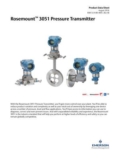 Rosemount™ 8800D Series Vortex Flowmeter