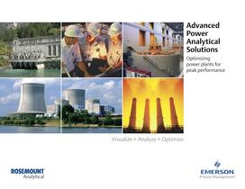 Rosemount Analytical: Advanced Power Analytical Solutions - 1