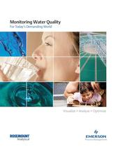 Rosemount Analytical: Monitoring Water Quality - 1