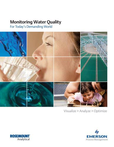 Rosemount Analytical: Monitoring Water Quality