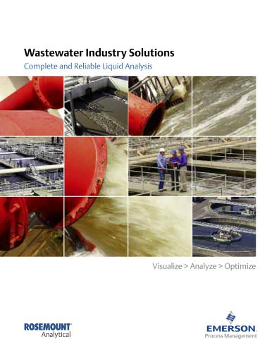 Rosemount Analytical: Wastewater Industry Solutions