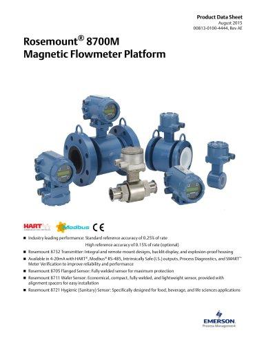 Rosemount Magnetic Flowmeter 8732EM with Revision 4 Electronics