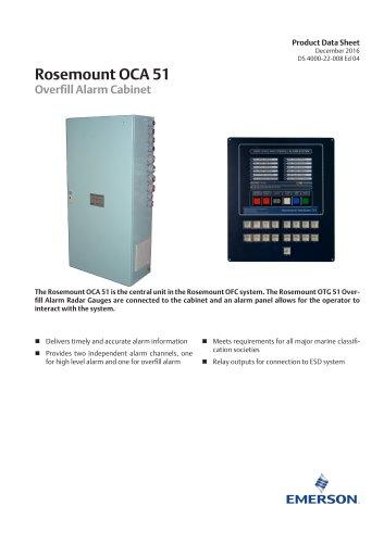 Rosemount OCA 51 Overfill Alarm Cabinet