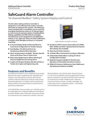 SafeGuard Alarm Controller