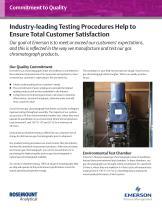 Testing Procedures Help to Ensure Total Customer Satisfaction - 1