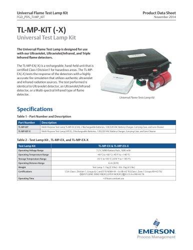 TL-MP-KIT-X Universal Flame Detector Test Lamp Kit