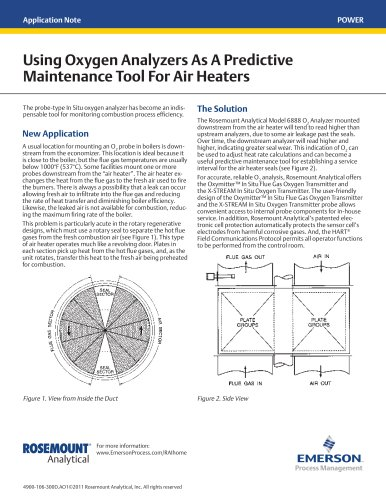 Using Oxygen Analyzers As A Predictive Maintenance Tool For Air Heaters