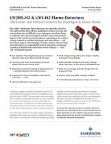 UV/IRS-H2 and UVS-H2 Flame Detectors - 1