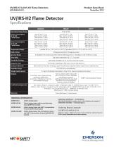 UV/IRS-H2 and UVS-H2 Flame Detectors - 2