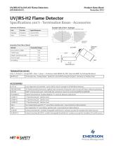 UV/IRS-H2 and UVS-H2 Flame Detectors - 3