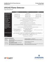 UV/IRS-H2 and UVS-H2 Flame Detectors - 4