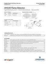 UV/IRS-H2 and UVS-H2 Flame Detectors - 5