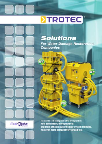 Solutions - For Water Damage Restoration Companies
