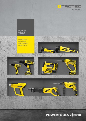 Trotec PowerTools program