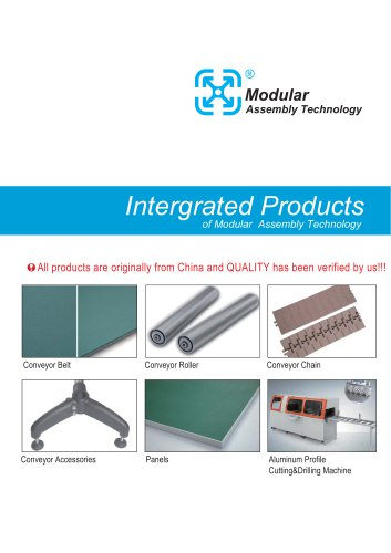Intergrated Products  of Modular Assembly Technology