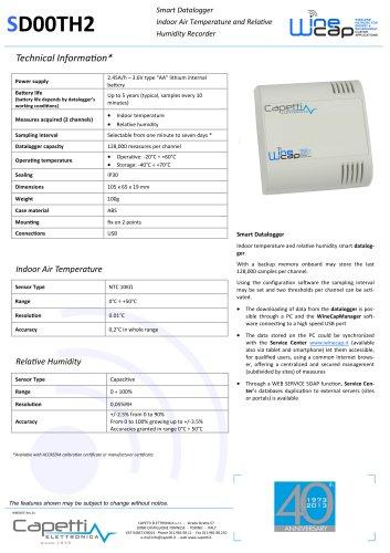 SD00TH2 Smart Datalogger