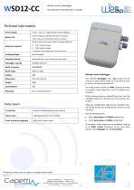 WSD12-CC - Wireless Smart Datalogger - 1