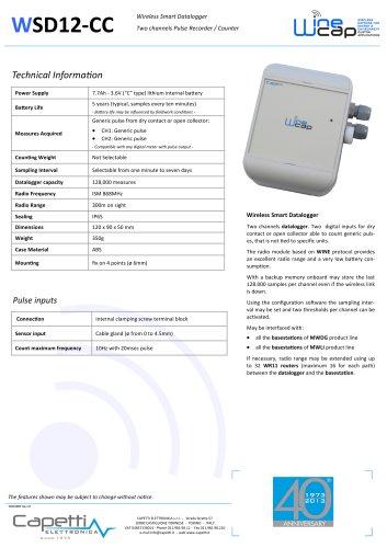 WSD12-CC - Wireless Smart Datalogger