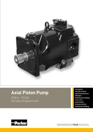 Pompe hydraulique à pistons axiaux PV