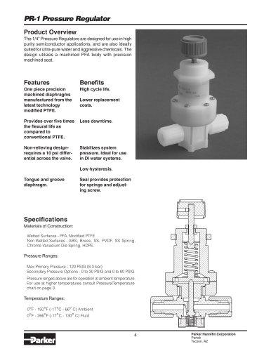 PR-1 Pressure Regulator