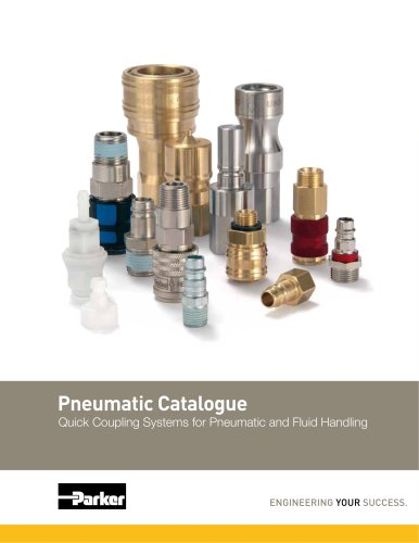 Quick Coupling Systems for Pneumatic and Fluid Handling