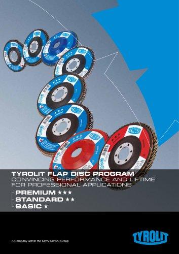 Tyrolit Flap Disc Program