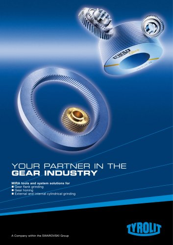 Your Partner in the Gear Industry