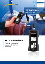 Test equipment for Maintenance and service