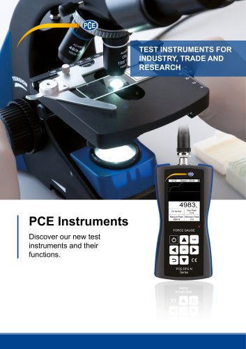 TEST INSTRUMENTS FOR INDUSTRY, TRADE AND RESEARCH