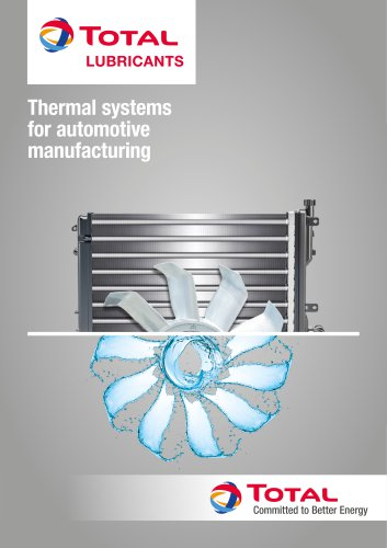 THERMAL SYSTEMS FOR AUTOMOTIVE INDUSTRY