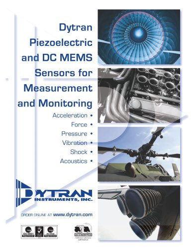 Piezoelectric and DC MEMS Sensors for Measurement and Monitoring