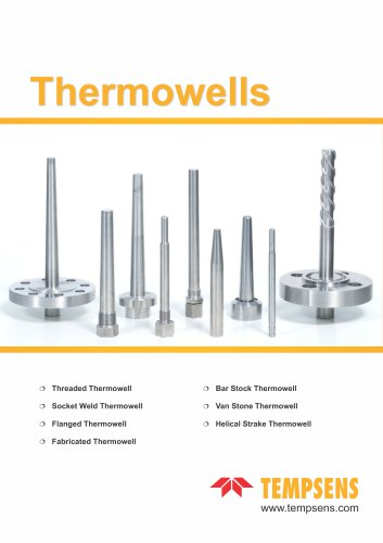 Thermowells and accessories