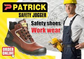 Patrick Safety Jogger Catalog - 1