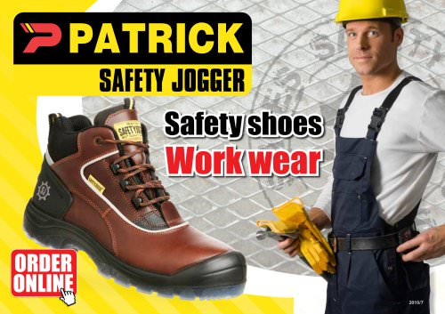 Patrick Safety Jogger Catalog