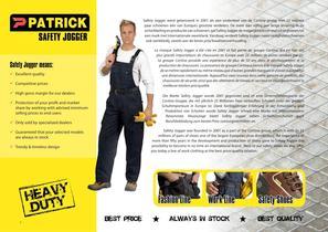 Patrick Safety Jogger Catalog - 2