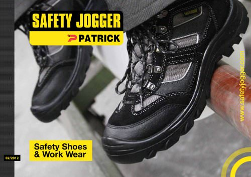Safety Jogger Catalog 2012
