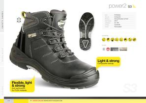 Safety shoes & gloves - 14