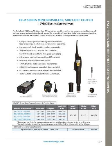 12VDC Premium Brushless Series