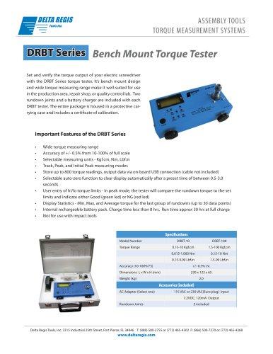 Delta Regis DRBT Series Torque Tester