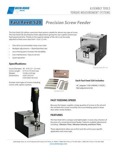 Precision Screw Feeder